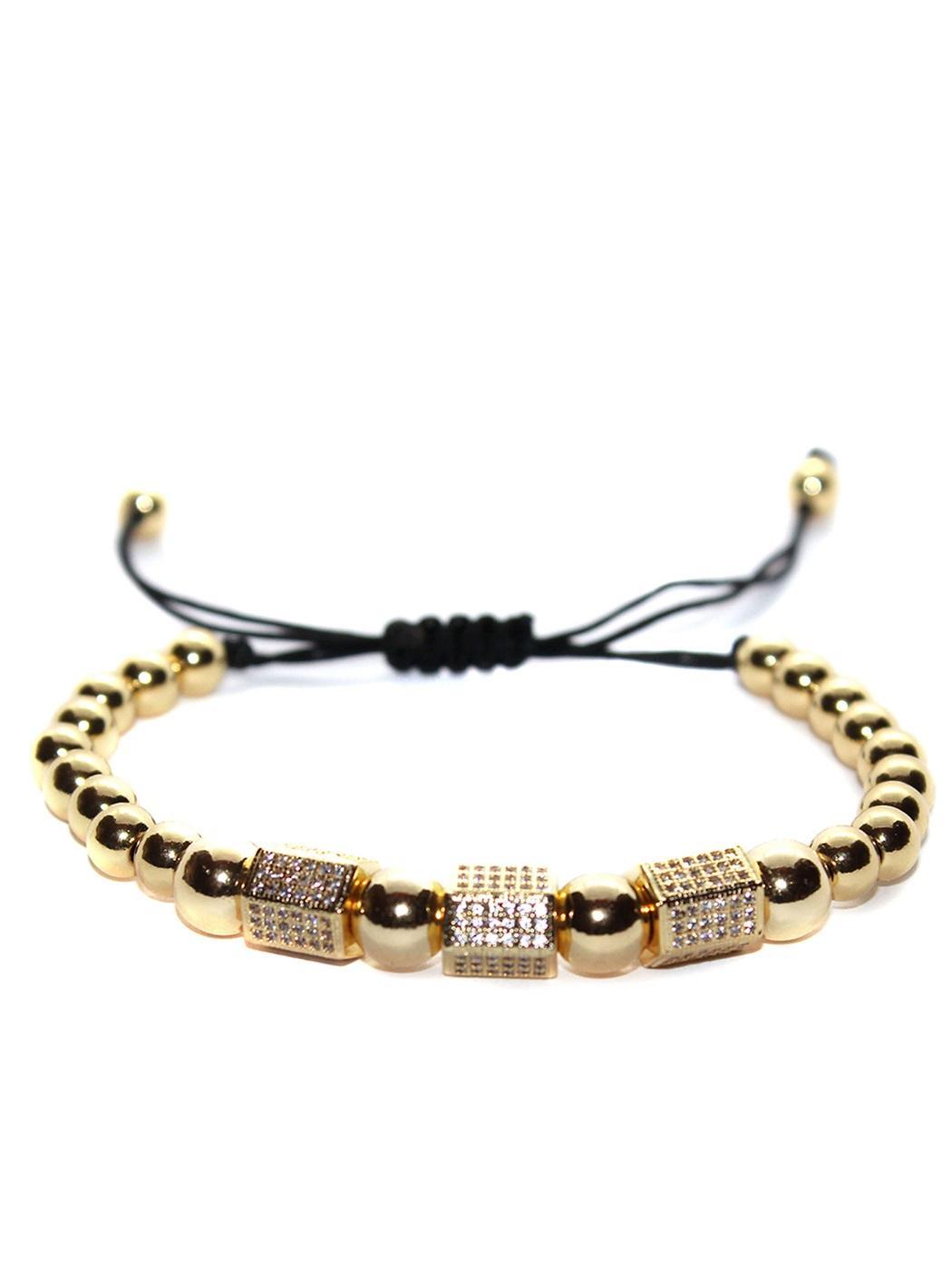 14K Gold Tennis Bracelet Cubic Zirconia