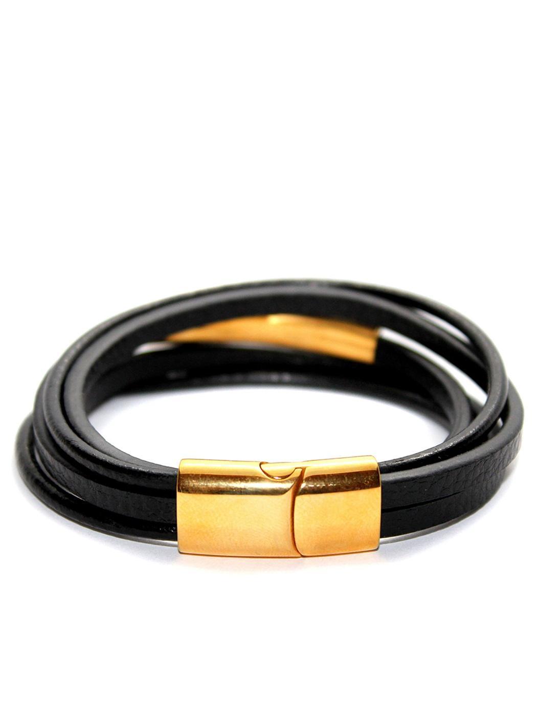 Mens Gold Wrist Bracelet